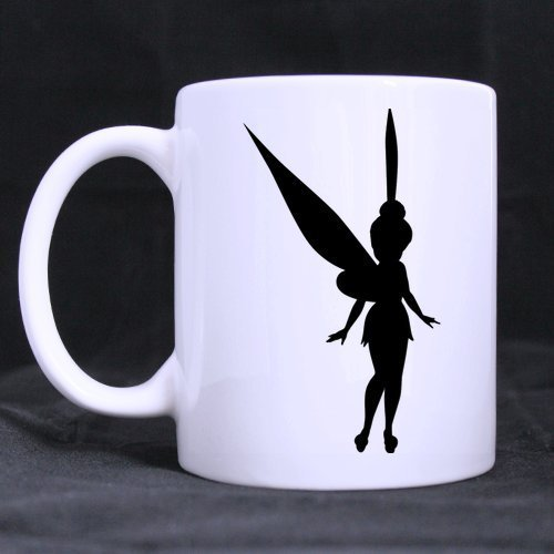 - Diy Funny Mugs Tinkerbell Pumpkin Carving Patterns Custom 11 OZ Large White Mug Ceramic Coffee Tea Germic Cup