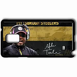 Personalized Samsung Note 4 Cell phone Case/Cover Skin 1398 pittsburgh steelers Black