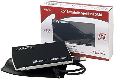 Profitec MHD 25 USB Caja de Disco Duro 2.5 Pulgadas: Amazon.es: Electrónica