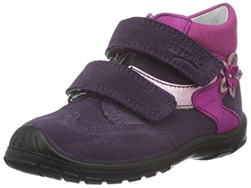 Superfit SOFTTIPPO 700326, Baby Mädchen Lauflernschuhe, Violett (TULIP KOMBI 54) Violett (TULIP KOMBI 54)