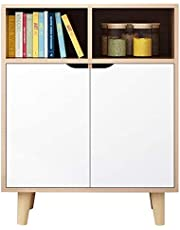 Kitchen Storage Sideboard,Sideboard for Living Roo Storage Cabinet Bookcase with Doors Free Standing Cupboard Bathroom Cabinet Sideboard Entryway Cabinet Storage Cupboard for Dining/Living Room/Kitche