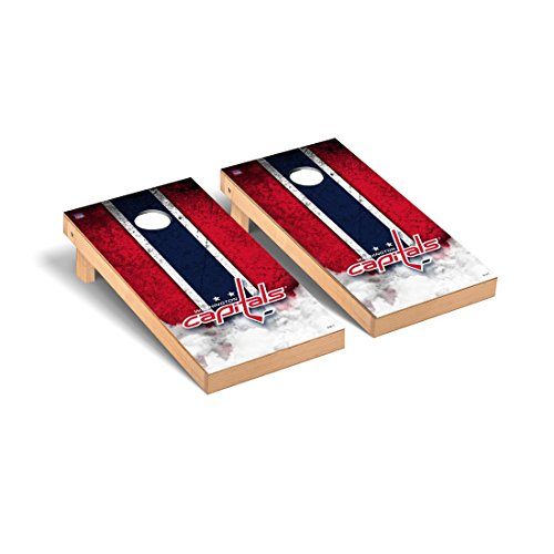 Victory Tailgate Washington Capitals Nhl Regulation Cornhole Game Set Vintage Version