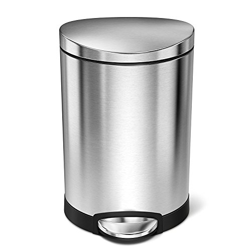 Simplehuman 6 Liter 1 6 Gallon Stainless Steel Compact
