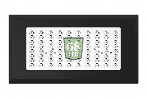 418jiLuQ%2BkL G8LED 240 Watt LED Grow Light with Optimal 8-Band plus Infrared (IR) and Ultraviolet (UV) - 3 Watt Chips - All in One for Veg and Flower