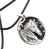 Native American Indian Horse Necklace