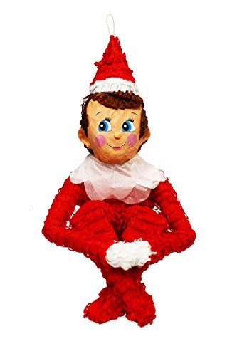 Christmas Elf on the Shelf Pinata (Christmas Elf Toy)