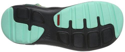 adidas Performance Duramo 6 Lea - Zapatillas de running unisex Varios colores (Mehrfarbig (Vista Green S14 / Bahia Glow S14 / Dark Shale D66691))