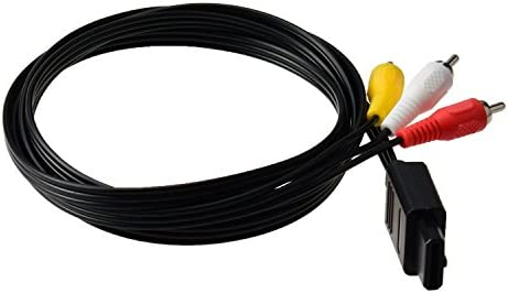 Gam3Gear AV Audio Video Cable compuesto para SNES N64 Gamecube PAL ...