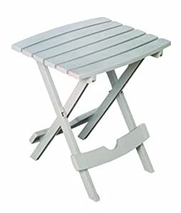 Adams Manufacturing 8500-23-3700 Quik-Fold® Side Table, Desert Clay Color: Desert Clay Outdoor, Home, Garden, Supply, Maintenance