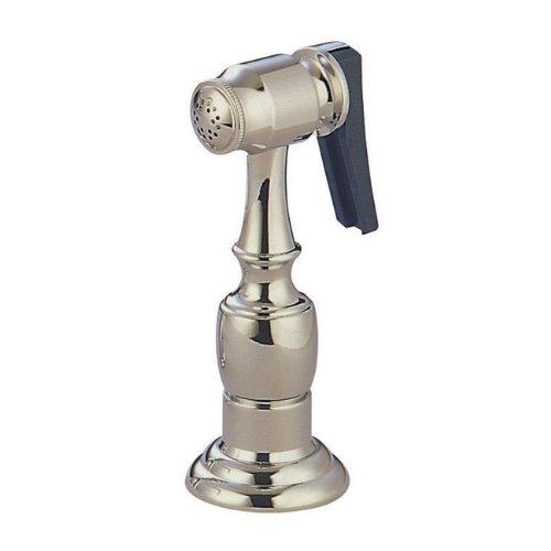 - Kingston Brass Gourmetier KBSPR8 Kitchen Faucet Sprayer with Hose, Brushed Nickel