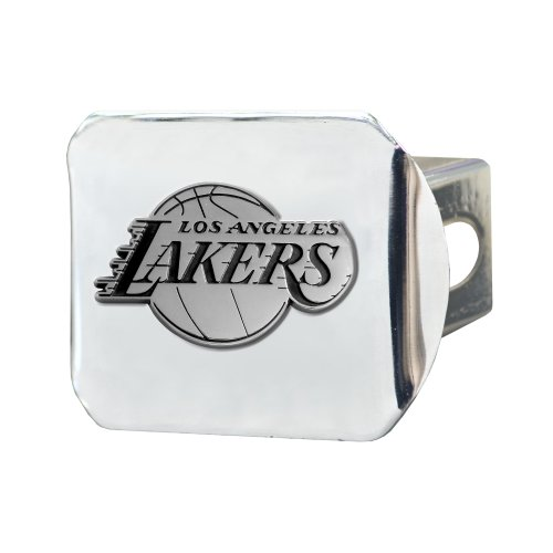 FANMATS  14969  NBA Los Angeles Lakers Chrome Hitch Cover by Fanmats