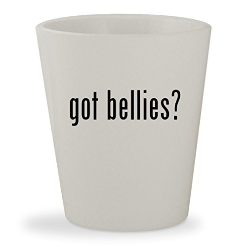 Brooke Davis Costume (got bellies? - White Ceramic 1.5oz Shot Glass)