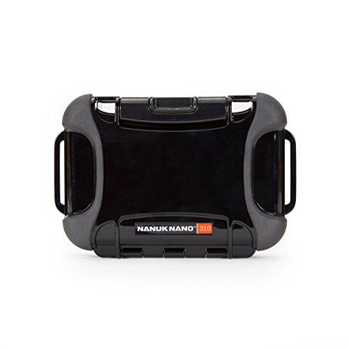 Nanuk 310-0001 Nano Series Waterproof Small Hard Case for Phones, Cameras and Electronics (Black)