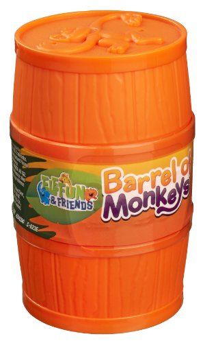 Elefun and Friends Barrel of Monkeys Game, Assorted Colours -