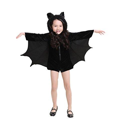 Boleyn Bat Costume Sexy Vampire Halloween Vintage Dress for Women (Small, (Modern Vampire Girl Costume)