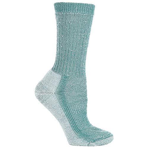 SmartWool Womens Socks - Medium Hiker (S, Evergreen)