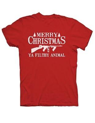 Merry Christmas Ya Filthy Animal Christmas Holiday T-shirt