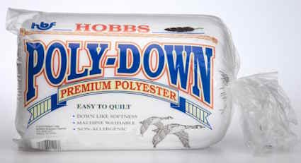 Hobbs Polydown Queen Wadding 1-Pack