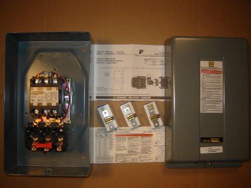 Motor Starter 15hp 3ph 230V definite purpose magnetic starter from Square D 8911dpsg53v09 by Square D (Image #1)
