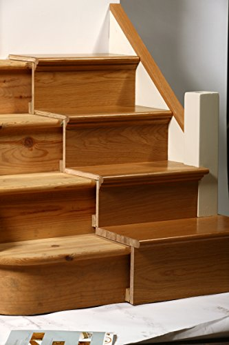 Tread Stair Refurbishment Kit   Oak   Prefinished (25 Pieces): Steps And  Risers: Amazon.co.uk: Kitchen U0026 Home
