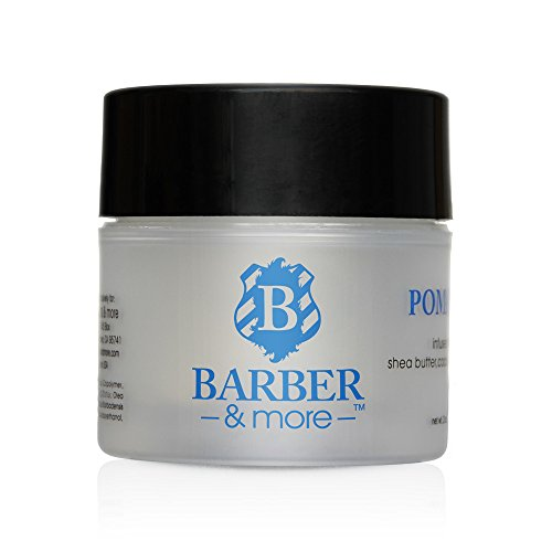 Barber & More Shea Butter, Coconut OIl and Olive Oil Infused Pomade 2 Oz