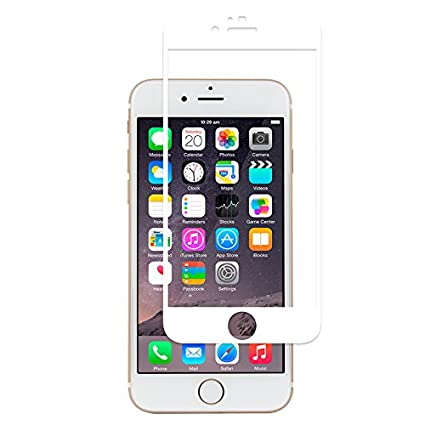 reputable site ca012 d4c4a Moshi iVisor AG Anti-Glare Screen Protector for iPhone 6 Plus (White ...