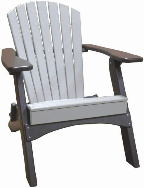 Amazon Com Perfect Choice Furniture Adirondack Folding Chair Camel Garden Outdoor