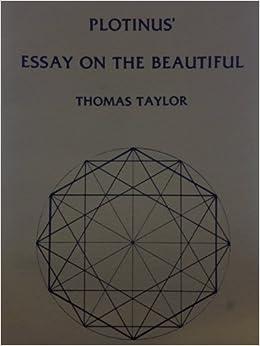Essay on the Beautiful
