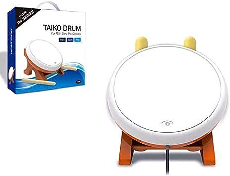 Mifive Taiko No Tatsujin Master Drum Controller Instrumento Tradicional para PS4 Slim Pro