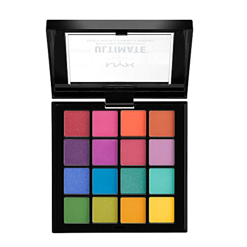 NYX PROFESSIONAL MAKEUP Ultimate Shadow Palette, Brights, 0.02 Ounce