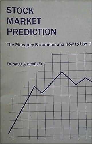 Donald Bradley - Stock Market Prediction