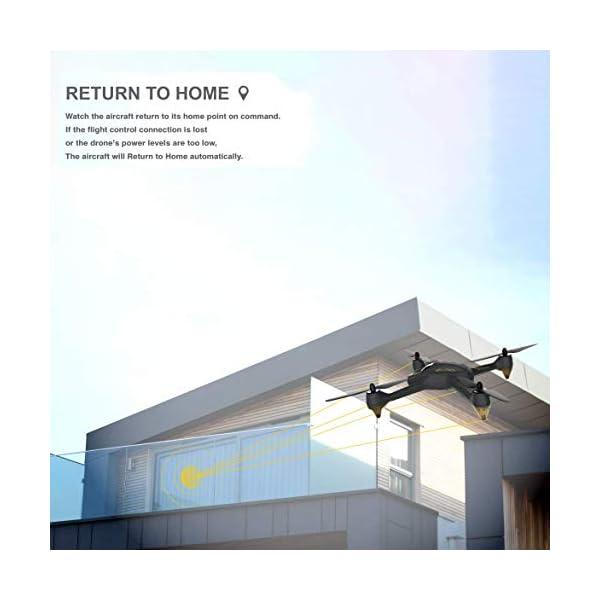 Hubsan H501S X4 Brushless Droni GPS 1080P HD Fotocamera FPV con H906A Trasmettitore Nero PRO Versione(2 batterie di Droni) 3 spesavip