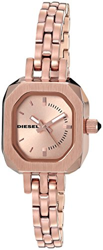 Diesel Ladies DZ5525 Bad B. Rose Gold Tone Watch
