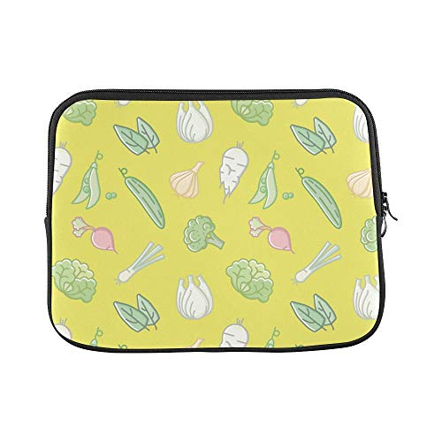 - Design Custom Pea Vegetable Hand Painted Creative Sleeve Soft Laptop Case Bag Pouch Skin for MacBook Air 11