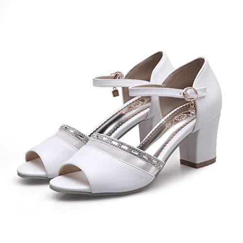 Sconosciuto 1TO9 EU Ballerine MJS03591 Bianco White 35 Donna Zfrdfwq