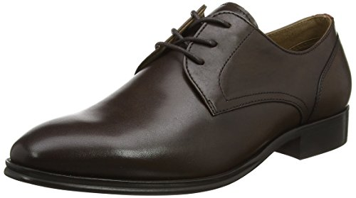 Aldo Mannen Lauriano Derby Lace Up Brogues Bruin (donkerbruin)