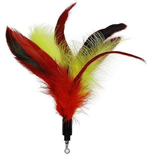 EcoCity Cat Toys - Feather Cat Teaser Toys 5