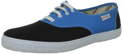 victoria Inglesa Bicolor - Zapatillas de tela unisex Azul (Bleu (Turquesa Negro))