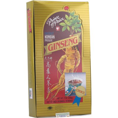 - Prince of Peace Korean Panax Ginseng Instant Tea, 100 ct.