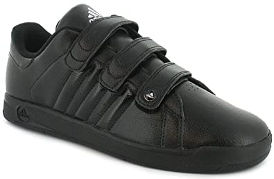 childrens black adidas trainers
