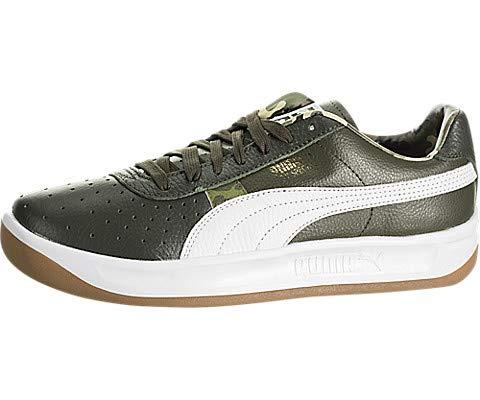 Puma GV Special Wild Camo Special Men's Shoes Night/Puma White/Gold 368371-01 (10.5 D(M) US) (Puma Gv Special Men White)