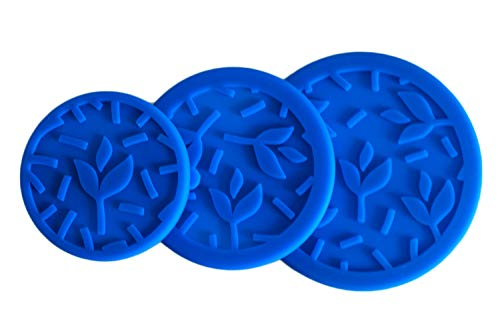 Tavva Snack Lids - 3 Leakproof Silicone Lids Set - Easy to Open - Plastic Free - Food-grade Silicone - Replacement - only for Tavva Snack Stainless Steel Food Storage Containers