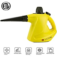 VASTORE 450ML LARGE CAPACIT Handheld Steam Cleaner Lightweight Device for Deodorization And Sterilization, with 9-Piece Accessories for Stubborn Stains Removal in Bathroom, Kitchen& Much More
