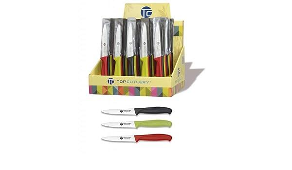 Top Cutlery - 17347 - Expositor 48 pzas Cuchillos Mesa 10 cm ...