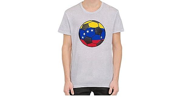 Venezuela Football Camiseta Hombres Mujeres Large: Amazon.es: Ropa y accesorios