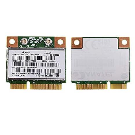 Yintiod BCM943142HM BT4.0 - Tarjeta WLAN para Lenovo G500 ...