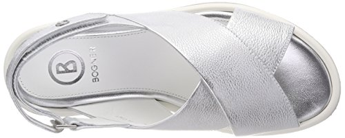 Bogner Women's Oslo 17c Platform Sandals Silver (Silver) clearance find great cheapest price online clearance prices a2Haxp