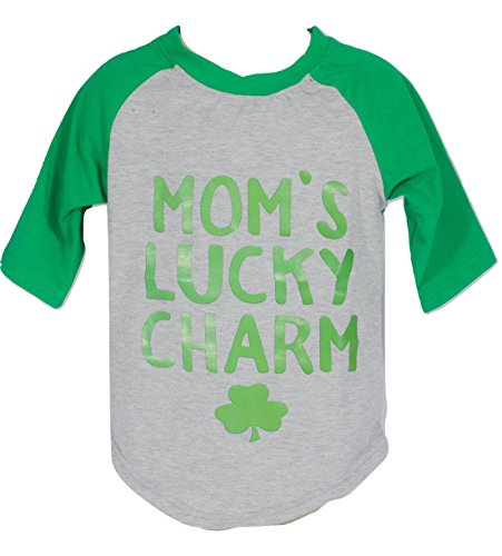[Anderson Baby Care LLC Novelty Kids T-Shirts For Boys and Girls In Infant/Toddler/Little Kid Sizes Newborn To 5/6 (3XS (6-9 Months), Lucky Charm)] (Toddler Boy St Patricks Day Outfit)