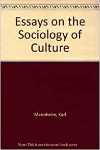 essays on the sociology of culture Written by flourish itulua-abumere published by: upublishinfo website: wwwflourishabumerecom sociological concepts of culture and identity article summary: the concept of culture is among the most widely used notions in sociology.