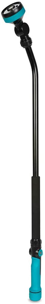 Gilmour 820522-1001 Heavy Duty Swivel Connect Extended Watering Wand, 34 Inch Aqua, Black